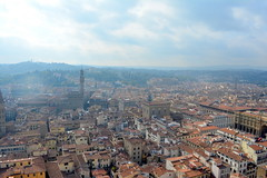 Florence, Italy - Cathedral of Santa Maria del Fiore (Il Duomo) - Brunelleschi's Dome - View from atop the Dome (jrozwado) Tags: europe italy italia florence firenze cathedral cattedrale stmaryoftheflower santamariadelfiore ilduomo unescoworldheritage church catholic dome brunelleschi view
