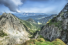 View from Mangart (em-si) Tags: slovenia slovenija slowenien italien italy italia nature natur mountains berge sky himmel summer sommer trip ausflug nikond800 nikon1635 weissenfelsersee mangart