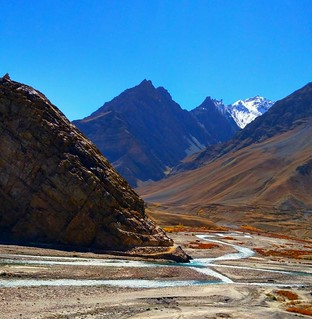 Spiti Valley with spiti river