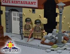 United Bricks - Airborne 101st Paratrooper (UnitedBricks) Tags: lego unitedbricks ublego ww2 legoww2 military army war soldier airborne paratrooper legoscene legomoc moc creation