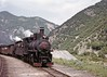 Two JŽ class 0-8-2s entering Jablanica (TrainsandTravel) Tags: yugoslavia yougoslavie jugoslawien jugoslavija bosnia bosnie bosnien bosna herzogovina steamtrains dampfzüge trainsàvapeur parnivozovi jugoslovenskeželeznice jž narrowgauge schmalspurbahn voieetroite uskotracnihzeljeznica 760mm jablanica class83 082