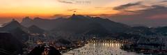 Sunset @ Rio de Janeiro - Brazil (higordepadua) Tags: riodejaneiro sugarloaf capitalcities famousplace fimdetarde outdoor paodeaçucar photography rio riodejaneirostate sunset traveldestinations tropicalclimate brazil bra