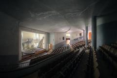 Concerto (Michal Seidl) Tags: abandoned theatre abbandonato teatro school summer camp colonia colegio salesiano hdr urbex italy infiltration canon