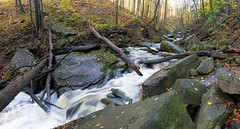 Smokey Hollow (claudiu_dobre) Tags: smokey hollow falls waterdown ontario panorama river rapids forest nature landscape bruce hiking trail burlington canada ca