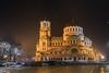 im Angedenken (wolf238) Tags: alexandernewskikathedrale alexander newski kathedrale sofia bulgarien night city nacht momument kirche hauptstadt nächtens