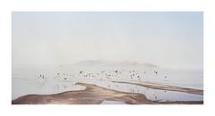 Great Salt Lake by BlPlN - Linhof Technika III, 150/4.5 Voigtlander Heliar, Portra 400