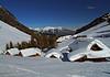 Dolinca huts (Vid Pogacnik) Tags: austria carnicalps tourskiing skitouring outdoors landscape dolinca winter snow huts mountain