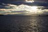 Lake Champlain sunset (InnAtElmwood) Tags: water sunset sunrays adirondacks mountains lakechamplain lake pentax pentaxkr landscape panorama vermont vt new clouds sky burlington