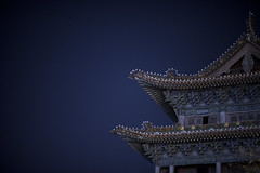 Restored Architecture from Ming dynasty(around 1376 AD) (Master KZ) Tags: architecure nikon nikond850 iso1600 mingdynasty taiyuan blue ancient