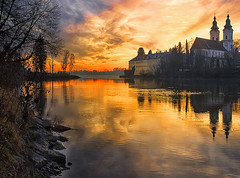 JB7_2011 (john_berg5) Tags: river sunset kloster bayern bavaria austria nikond750