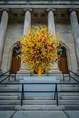 Sun (Hub☺) Tags: 2013 canada montreal quebec sculpture stairs statue villemarie montréal québec ca
