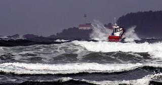 Coast Guard at Cox Bay