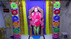 Ghanshyam Maharaj Shayan Darshan on Sat 09 Dec 2017 (bhujmandir) Tags: ghanshyam maharaj swaminarayan dev hari bhagvan bhagwan bhuj mandir temple daily darshan swami narayan shayan