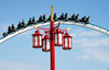 Shambhala (candi...) Tags: shambhala parquedeatracciones portaventura atracción farola airelibre personas cielo nubes sonya77