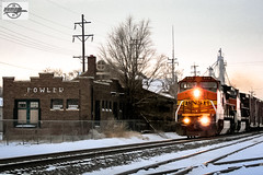 Eastbound BNSF High Priority Manifest Train at Fowler, CO (Mo-Pump) Tags: train railroad railfan railroader locomotive