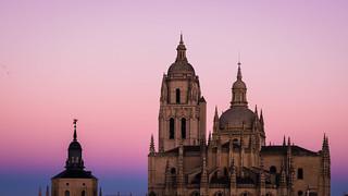 segovia catedral amanecer