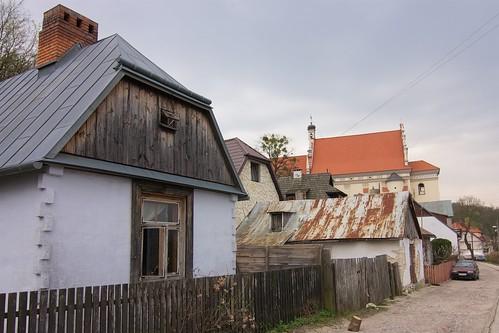 Otynkowana chata wieńcowa (Puławska 10)