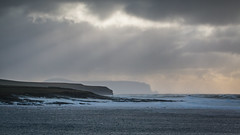 Atlantic Gale (MBDGE >1.4 Million Views) Tags: orkney hoy oldmanofhoy sea seascape canon70d clouds water waves scotland sun sunrays wind winter atlantic ocean alba gale bay landscape mountain sky beach overcast sand rock