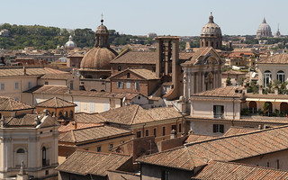 Roma dalla terrazza dei Musei Capitolini
