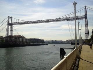 Puente Bizkaia desde Portugalete