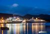 Finnmarken & Marco Polo [Explore #19] (Aviation & Maritime) Tags: marcopolo cruisemaritimevoyages cmv cruiseship cruise finnmarken hurtigruten coastalexpress norwegiancoastalvoyage passengership bergen norway