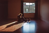 Four walls (loonyidea) Tags: film slide fuji velvia 50 melancholy sunshine childhood window new start