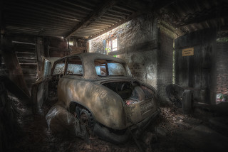 the old vehicle