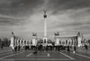 Heroes Square, Budapest (operian) Tags: budapest hosoktere heroessquare bw monochrome memorial monument magyarorszag hungary blend travel europe tourist selectivebw 2017