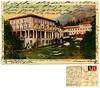 Roncegno Bagni. Palace e Grand Hotel. Montibeller, Roncegno. Spedita nel 1934 (Ecomuseo Valsugana | Croxarie) Tags: roncegno roncegnoterme cartolina 1934 terme bagni hotel hotelpalace grandhotel