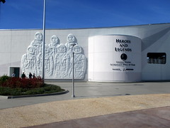 IMG_3985 (Autistic Reality) Tags: heroesandlegends heroes legends exterior outside outdoors building structure architecture johnfkennedyspacecenter ksc nationalaeronauticsandspaceadministration fieldcenter kennedyspacecenter nasa merrittisland florida fl fla brevardcounty unitedstates unitedstatesofamerica america usa us launch space outerspace spaceport spacetravel stateofflorida visitorcomplex visitors complex