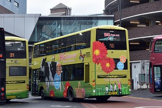 11916. Go North East NK62CZA. Newcastle, 2017.