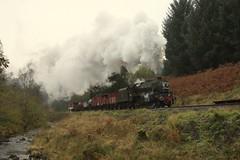 Raindale goods (feroequineologist) Tags: 44806 black5 nymr northyorkshiremoorsrailway lms railway train steam