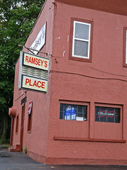 Ramsey's Place, Elmira, NY (Robby Virus) Tags: elmira newyork ny upstate ramseys place bar tavern pub sign signage alcohol booze local joint beer