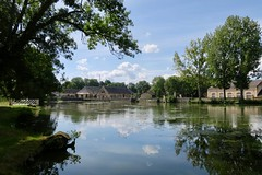 Forges royales de Guérigny (Nièvre) (godran25) Tags: france bourgogne burgundy nièvre nivernais guérigny forge forges marine royale water reflection reflets 2017 canon g9x