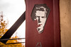 Prag (torivonglory) Tags: prag2017gastspielnovember prag praha prague city stadt tracel visit gastspiel davidbowie bowie streetart art torn zerrissen kaputt urban phillipjeffries lazarus blackstar