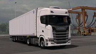Scania S450 + Schmitz S.KO