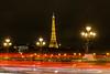 Les lumières de Paris (Bouhsina Photography) Tags: lumière longue exposition bouhsina bouhsinaphotography france tour eifel pont invalide rouge traine architecture candelabre 2017