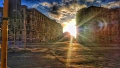 Rome (alfredoparenti) Tags: italia italy sunrise usn sun