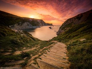 Sunrise At Man Of War Bay