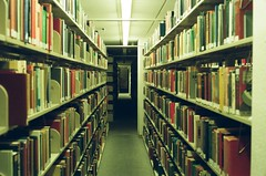 Dimond Library, UNH. (gswanson57) Tags: fuji canon film analog library canonet