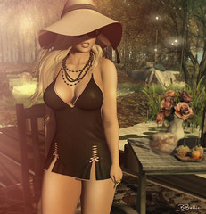relaxing (babibellic) Tags: secondlife sl sexyprincess beauty babigiobellic blogger bento moda fashion mosquitosway virtual avatar