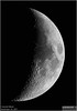 The Crescent Moon - November 24, 2017 (LeisurelyScientist.com) Tags: tomwildoner tdsobservatory observatory weatherly pennsylvania november 2017 moon crater crescent solarsystem nightsky night meade telescope lx90 celestron cgemdx canon canon6d backyardeos video stacking