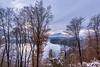 View to Villach (em-si) Tags: villach wernberg kärnten carinthia austria österreich snow schnee winter landscape landschaft nikond800 trees bäume nebel mist nikon1635 klosterwernberg schlosswernberg