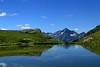 Val d'Aosta . Valle di Saint Barthlemy: verso il Col Chaleby (mariagraziaschiapparelli) Tags: montagna mountain valdaosta valledisaintbarthlemy colchaleby allegrisinasceosidiventa escursionismo camminata colle estate