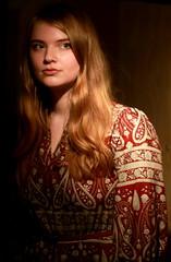 IMG_9926 Lisa (marinbiker 1961) Tags: lisa singer musician portrait indoors woman beautiful redhead