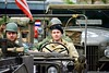 Leidens Ontzet 2017 – Parade – Waiting (Michiel2005) Tags: man soldaat soldier jeep willys leidensontzet leidensontzet2017 leiden nederland netherlands holland parade optocht 3oktober 3october