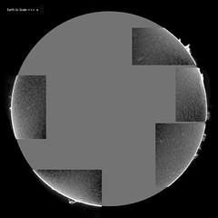Sun 30-11-2017 b&w (padraic_koen) Tags: sun solar astronomy astrophotography luntha60mmb1200telescope zwoasi120videocamera