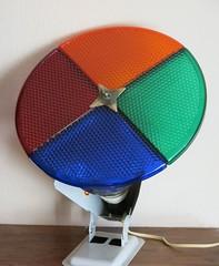 Vintage Christmas Tree Color Wheel (hmdavid) Tags: vintage christmas color wheel aluminum tree
