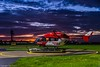 HAJ DRF Luftrettung HSD D-HDRZ (U. Heinze) Tags: aircraft haj hannoverlangenhagenairporthaj hubschrauber himmel eddv nikon planespotting