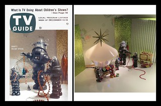 SetupShot - Faux TV Guide - Robby the Robot TV Holiday Special